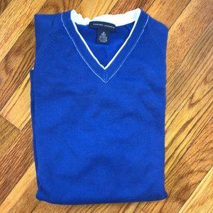 Banana Republic Cobalt Blue V-neck Sweater M